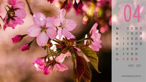 april  kalenderblaetter hintergrundbilder kostenlos