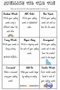 teach cheat homework spelling tic tac toe With tic tac toe homework template