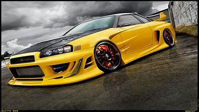 R34 Skyline Nissan Gtr Gt Wallpapers 1080p