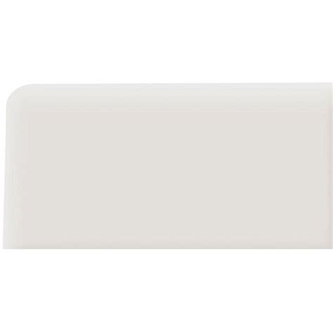 rittenhouse square tile trim pieces daltile rittenhouse square arctic white 3 in x 6 in