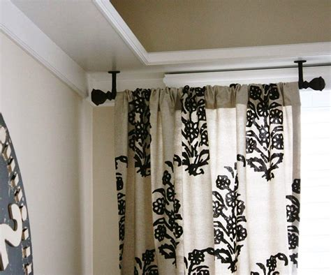 Elegant Black French Door Curtain Rods Combine White And Black Flural Curtain Ideas Tension Curtain Rods Small Behind The Iron Football Curtains Baby Room Safety Dark Purple Cafe Boy Dunelm Green Country Bedding Rings With Eyelets
