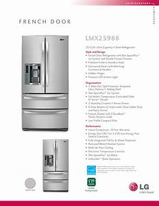 Download Free Pdf For Lg Lmx25988 Refrigerator Manual
