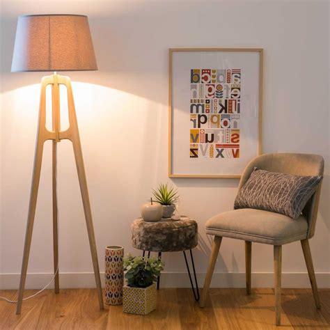 lampadaire maisons du monde  modeles pour  interieur lumineux