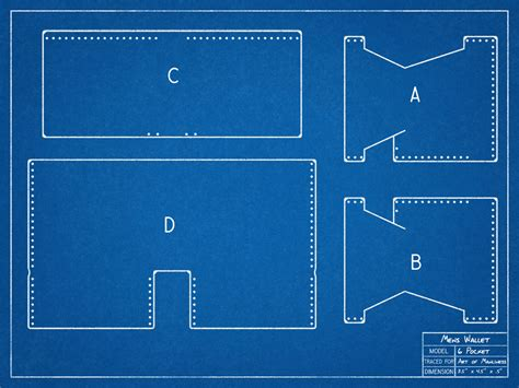 wallet template how to make a leather wallet by