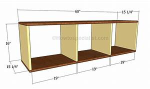Mudroom Bench Plans HowToSpecialist - How to Build, Step