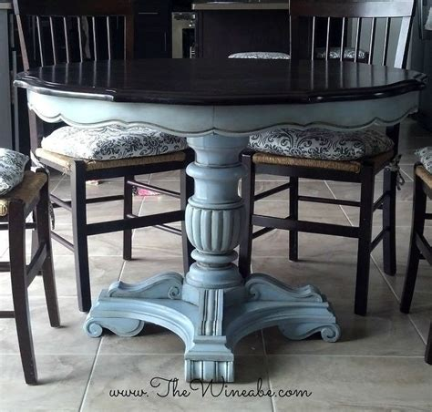 painted kitchen table ideas 99 best images about dining tables chairs chalk paint