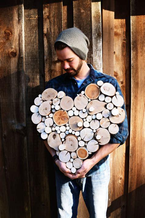 sculture fai da te  le fette  legno