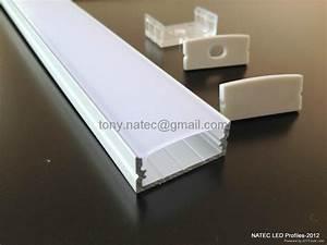 Led Strip Profil : surface mounting 10mm flat profiles led system profile led strip profile rls010 natec china ~ Buech-reservation.com Haus und Dekorationen