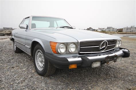 Offered at this '84 380 sl roadster comes to us offered for sale for the first time since 1998. 1984 Mercedes 380 SL Convertible for sale