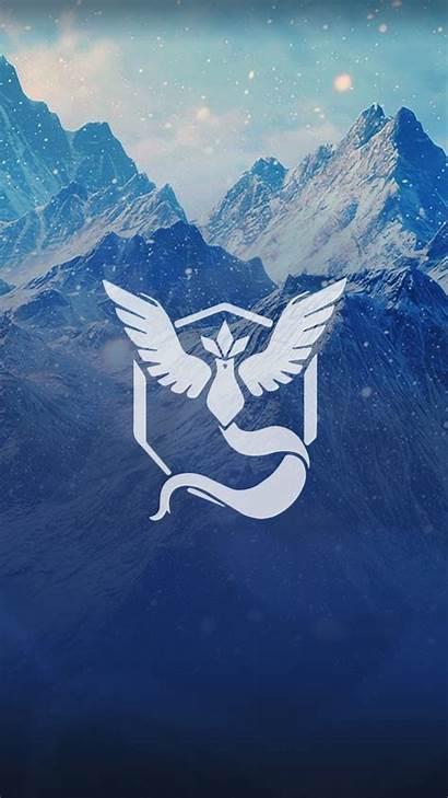Pokemon Mystic Wallpapers Team Background Gengar Iphone