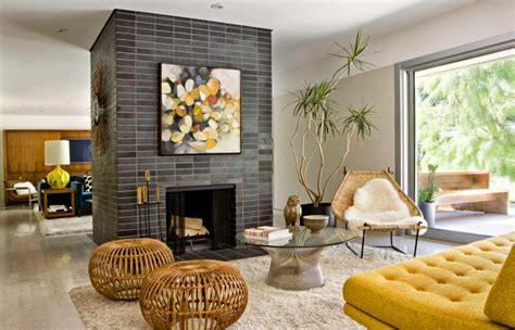 Adding Bright Pops Of Color Into Modern Mid Century Home