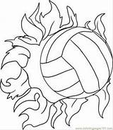 Volleyball Coloring Draw Step Pages Printable Sports Drawing sketch template