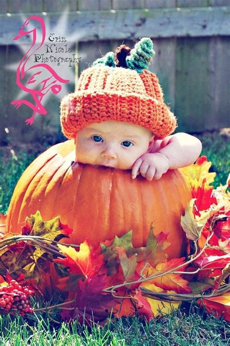 crochet pumpkin hat photo props fall photography