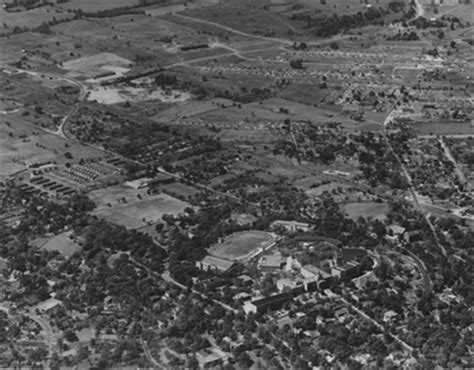 aerial photograph  western kentucky university  unknown