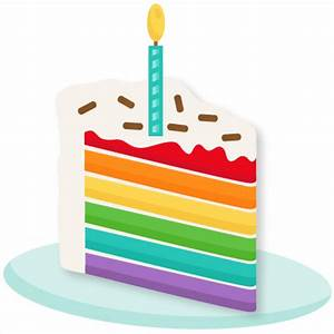 Slice of birthday cake clipart - BBCpersian7 collections