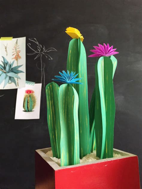 cute kid friendly cactus crafts  wont hurt