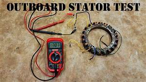 How To Test An Outboard Stator - The Easy Way