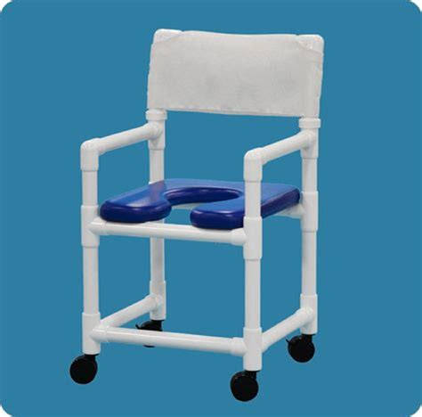 shower chair soft seat rolling shower chair with footrest