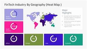 Fintech Industry Heat Map Template