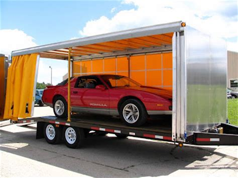 commercial truck success aluminum curtainside car