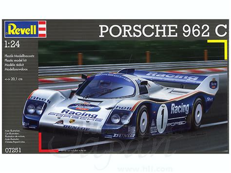 The 962c competed in 1989's all japan sports prototype car endurance championship, where it took on fuji speedway's ten taut turns and. 1/24 Porsche 962 C by Revell | HobbyLink Japan
