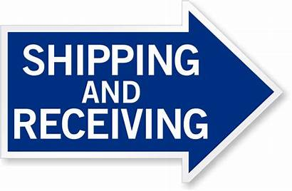 Receiving Shipping Arrow Signs Sign Reflective Right
