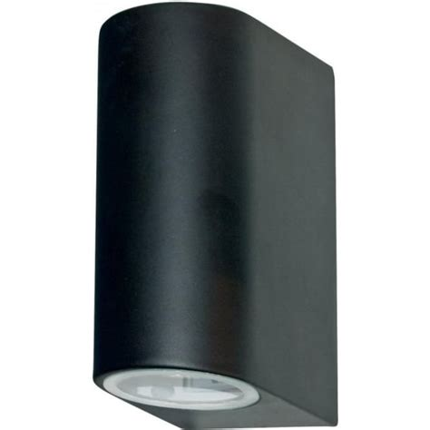 searchlight 8008 2bk led 2 light modern outdoor wall