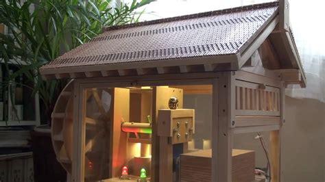 sonnensegel 6 x 4 第3号 手作りの模型水車小屋