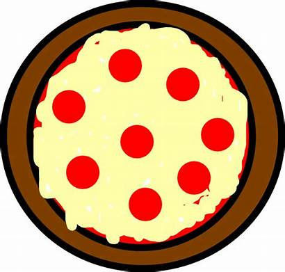Pizza Clipart Cheese Circle Clip Whole Objects