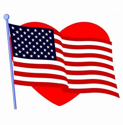 Flag American Border Clipart Graphics Clip Patriotic