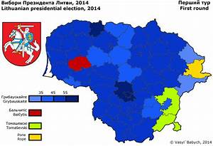 Lithuania. Presidential Election 2014 | Electoral ...