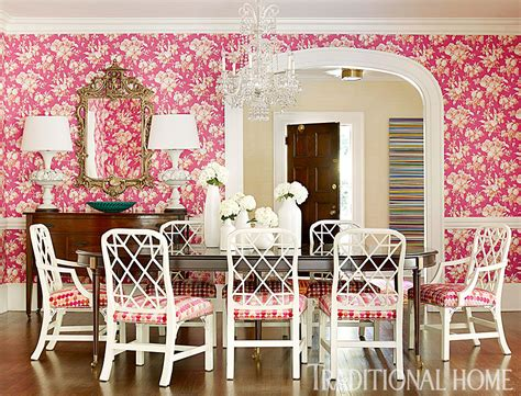 Pink Every Room by Pink In Every Room Traditional Home