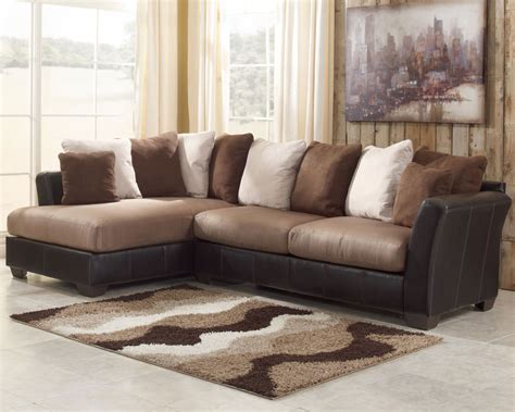 masoli mocha sectional sofa set signature design ashley