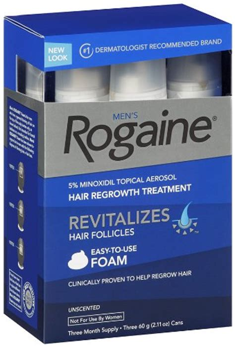 Rogaine-Foam-Reviews-of-the-Best-Minoxidil-Products