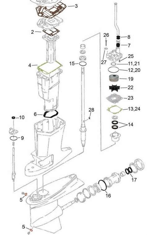 Yamaha Outboard Motor Parts Diagram Automotive