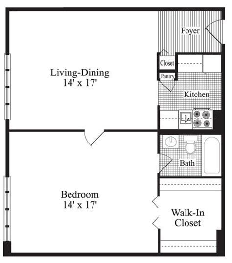 One Bedroom House Floor Plans by Beautiful One Bedroom Home Plans 7 One Bedroom House