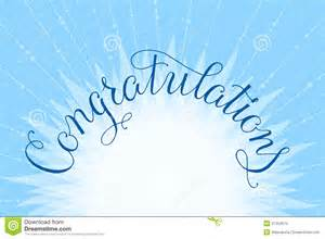 congratulations promotion card congratulations lettering illustration royalty free