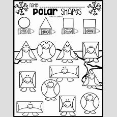 Polar Animal Math And Literacy Worksheets For Preschool (january)  Literacy Worksheets, Polar