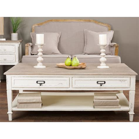white and brown coffee table zuo saints walnut and white coffee table 100145 the home