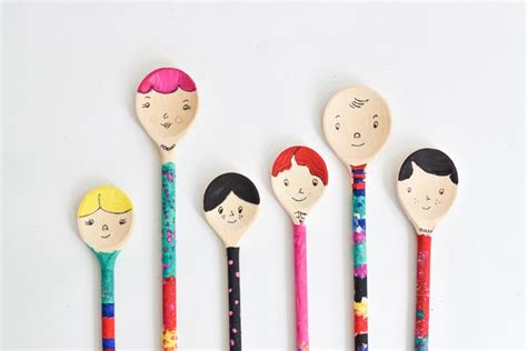 bookhoucraftprojects project 208 wooden spoon puppets
