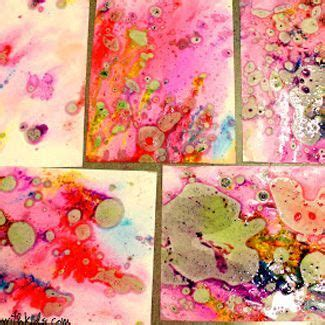 paper marbling tutorials  youve  waiting