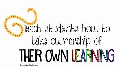 Learning Students Own Goals Student Teach Clipart