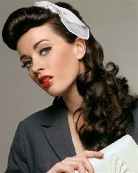Vintage Updo Hairstyles Pictures to Pin on Pinterest