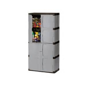 rubbermaid plastic storage cabinet 36x18x72 quot gray