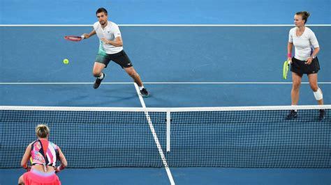 Video and review of the match gauff c. Barbora Krejcikova, Nikola Mektik win Australian Open mixed doubles title