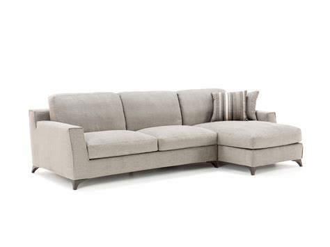 Elwood Chaise End Leather Sofa