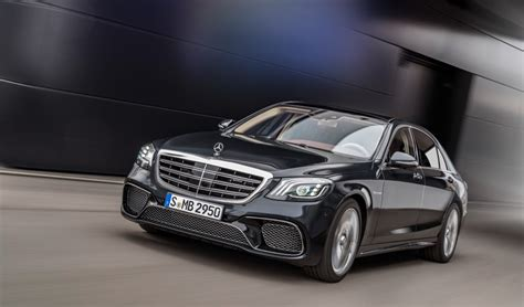 Facelift Changes for 2018 Mercedes-AMG S63 and S65