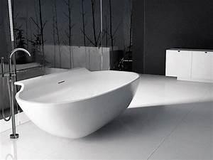 Freistehende Badewanne Mineralguss : freistehende badewanne toscana aus mineralguss wei ~ Michelbontemps.com Haus und Dekorationen