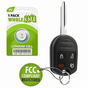 Replacement For 2010 2011 2012 2013 2014 Ford Mustang Key Remote | eBay