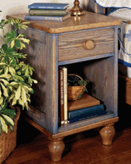 country fresh nightstand woodworking plan